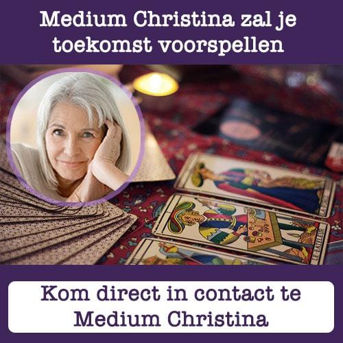 Gratis 1 consult bij Medium Christina