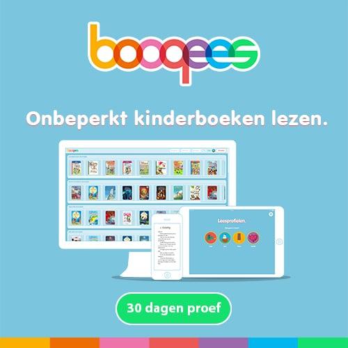 Dan kunnen ze bij Booqees onbeperkt kinderboeken lezen met het gehele gezin. Lees nu 30 dagen onbeperkt voor maar 1 euro.
