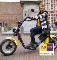 Nuon Vattenfall E-scooter van€ 2.049,-voor € 999,-