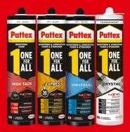 Gratis Pattex One for ALL. Geld terug actie!