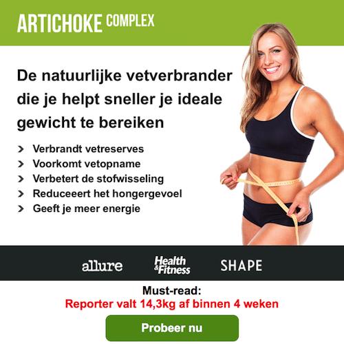 Sneller en blijvend afvallen door gezond eten en bewegen en in combinatie metArtichoke Complex!