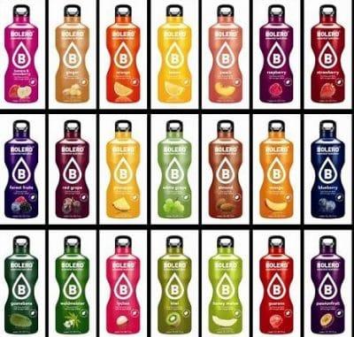 Altijd al een keer deBolero Limonade willen proberen? Vraag gratis het proefpakketje aan met 4 smaken die je zelf mag bepalen.