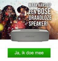 Gratis Bose speaker cadeau ontvangen? Win nu