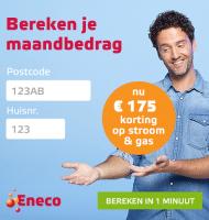 Eneco energie stort € 175.- retour op je rekening