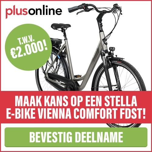 Na nieuwsbrief inschrijving kans op Stella E-Bike