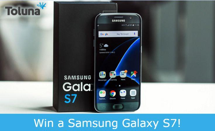 Win een Samsung Galaxy S7 | Schrijf je in bij Toluna!