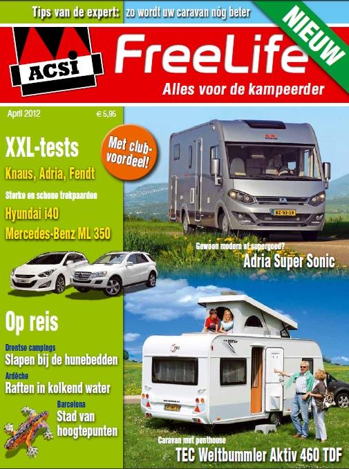 Gratis tijdschrift voor Camper en Caravanliefhebbers!