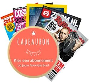 Online Krant met gratis Bladen Cadeaubon t.w.v. € 2,50