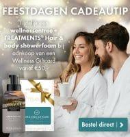 Gratis Wellness bezoek en hair & body showerfoam
