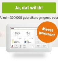 Gratis Eneco Toon Thermostaat t.w.v. € 200.-