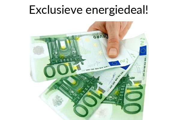 Unieke energiedeal met € 300,- welkomstkorting