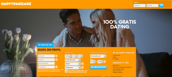 Gratis datingsite Happy Pancake 100% Gratis Daten