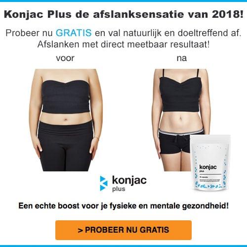 Wil je natuurlijk en effectief afslanken? Dan is Konjac Plus het product wat helpt. Konjac Plus wordt geprezen om haar zeer krachtige verbrandende eigenschappen.