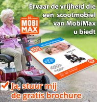Gratis brochure van MobiMax scootmobiel