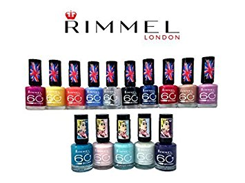 Gratis Rimmel 60 seconds Nail Polish testen!