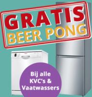 Wasmachine leasen bij SmartStudentDeals met Gratis Beer Pong