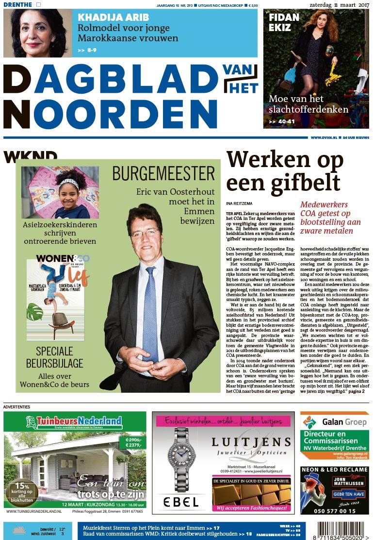 Gratis 2 weken het Dagblad van het Noorden