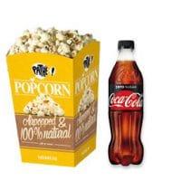 Bij Pathé Gratis medium popcorn en 0.5L frisdrank