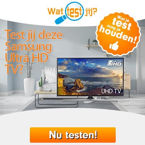 Ben jij tester van deze Samsung Ultra HD TV