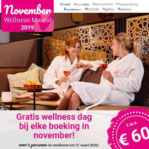Gratis dagje Wellness t.w.v. € 60.- bij voordeeluitjes