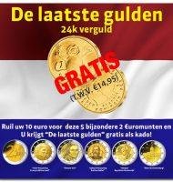 Ontvang een Gratis Gulden munt