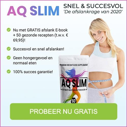 Start met lijnen en val af met AQ Slim