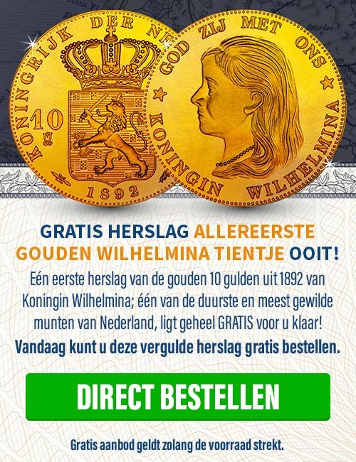 Gratis Koningin Wilhelmina 1892 Tientje