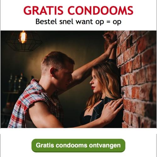 Veilig vrijen is belangrijk ontvang Gratis Condooms