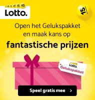 Win de Lotto trekking met dit Lotto Gelukspakket