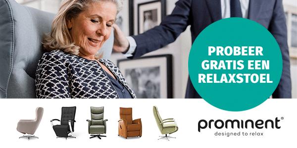Probeer gratis een Prominent Relaxstoel aan huis.