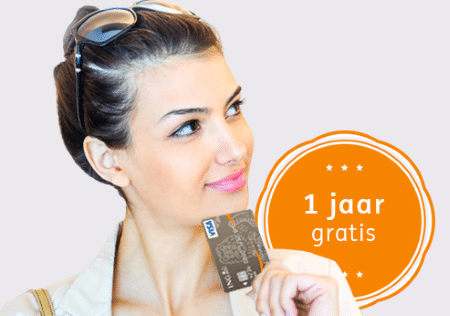 Visa Card 1 jaar gratis inclusief aankoopverzekering
