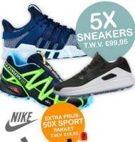 Maak gratis kans op Sneakers t.w.v. € 99.95