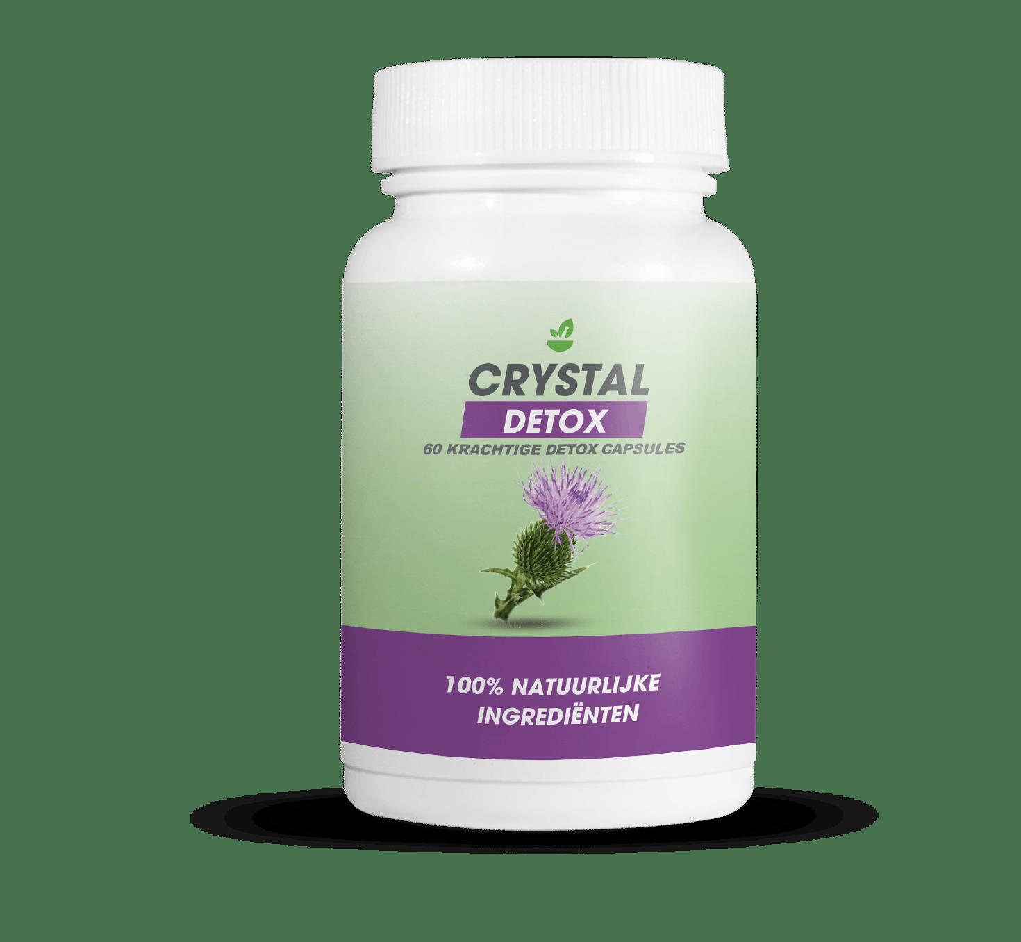 Ontgift je lichaam en val af met Crystal Detox Pure