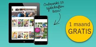 Gratis 1 maand 50 tijdschriften lezen?