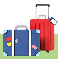 Win Gratis Reiskoffer bij een reisverzekering