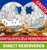 Gratis officiële Kerstmunt van Munt online