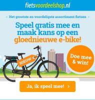 Maak kans op een gloednieuwe Elektrische-Bike