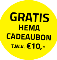 Gratis HEMA cadeaukaart bij de Troskompas