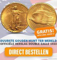 Ontvang Gratis de duurste Gouden munt