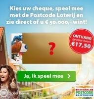 Studioplek bij Postcode loterij actie Miljoenenjacht