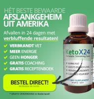 KetoX24 | In 24 dagen afvallen en kilo's verliezen!