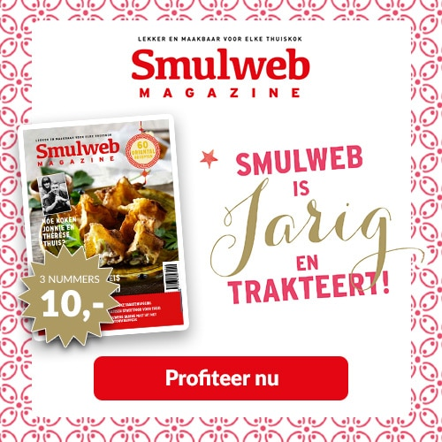 Smulweb kooktijdschrift met kans op prachtige prijzen