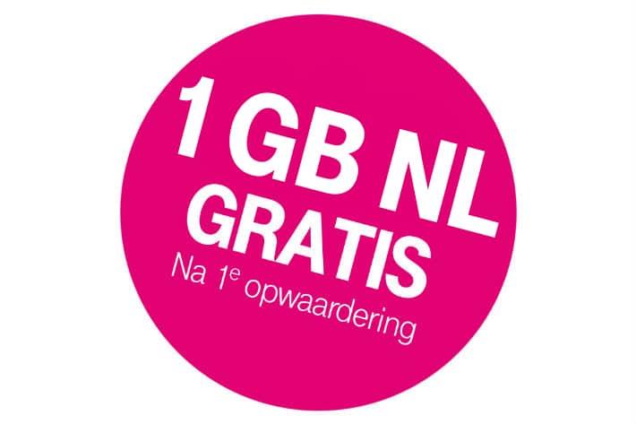 Vraag jouw Gratis T-Mobile Simkaartaan. Gewoon, voor erbij, het kost je niets extra's. Na je eerste opwaardering ontvang gratis € 5.- en 1 GB NL aan data op je Simkaart.
