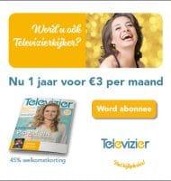 Televizier Gids met 45% korting voor 3 euro per maand