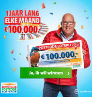 Buurt Ton Postcode Loterij! Win € 100.000,-