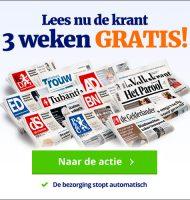 Parool 3 weken gratis lezen!Gratis 6 dagen per week een krant naar keuze lezen inclusief digitaal.