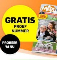 Vraag Gratis een MAX magazine aan!