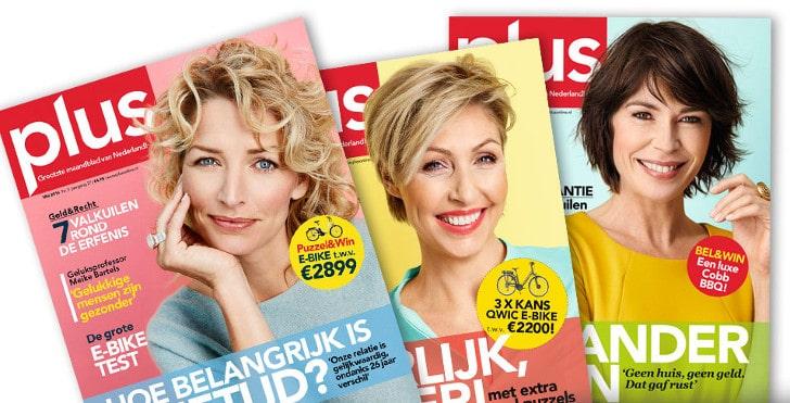 Win een iPad bij inschrijving nieuwsbrief Plus Magazine