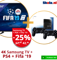 Gratis Samsung tablet bij Skala bestelling!