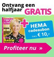 Gratis HEMA cadeaubon bij een Troskompas Tv Gids